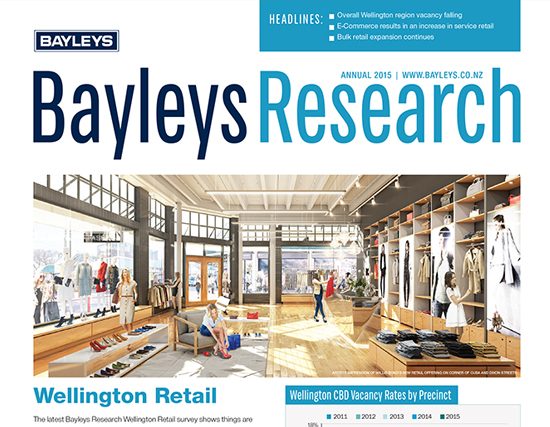 Bayleys Research Newsletter Design